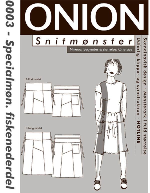 Onion fiskenederdel, str. One size - Onion 0003 - Onion