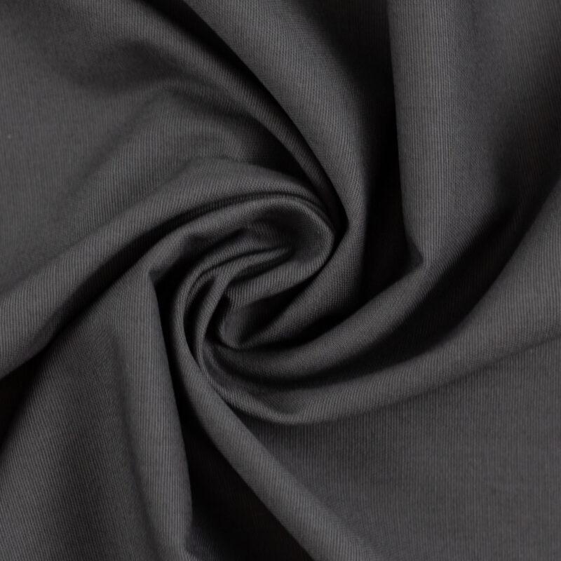 Anthrazit - Lagenlærred (148 cm bred) - Info mangler