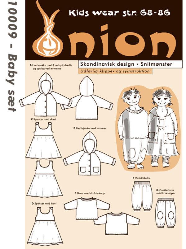 Baby sæt, str. 68-86 - Onion kids wear 10009 - Onion