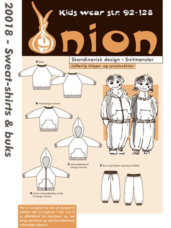 Sweat-shirts & buks, str. 92-128 - Onion kids wear 20018 - Onion