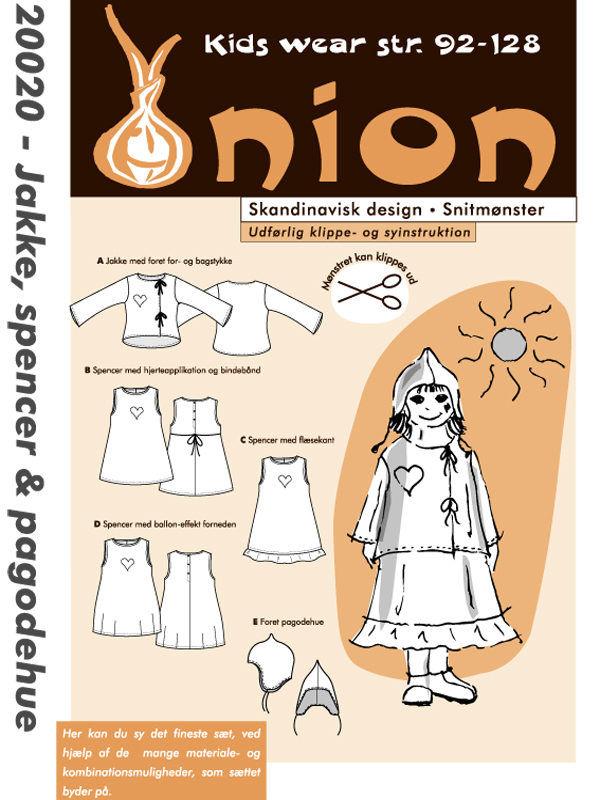 Jakke, spencer & pagodehue, str. 92-128 - Onion kids wear 20020 - Onion