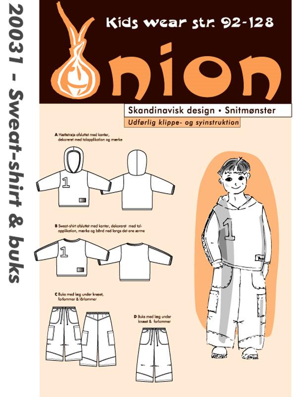 Sweat-shirt & buks - Onion Kids Wear 20031 - Onion