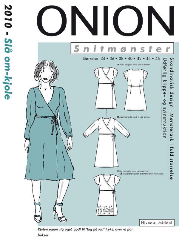 Onion slå-om-kjole, str. 34-46 - Onion 2010 - Onion