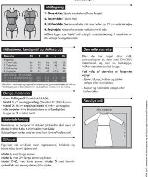 Onion slå-om-kjole i strik, str. XS-XL - Onion 2014 - Onion