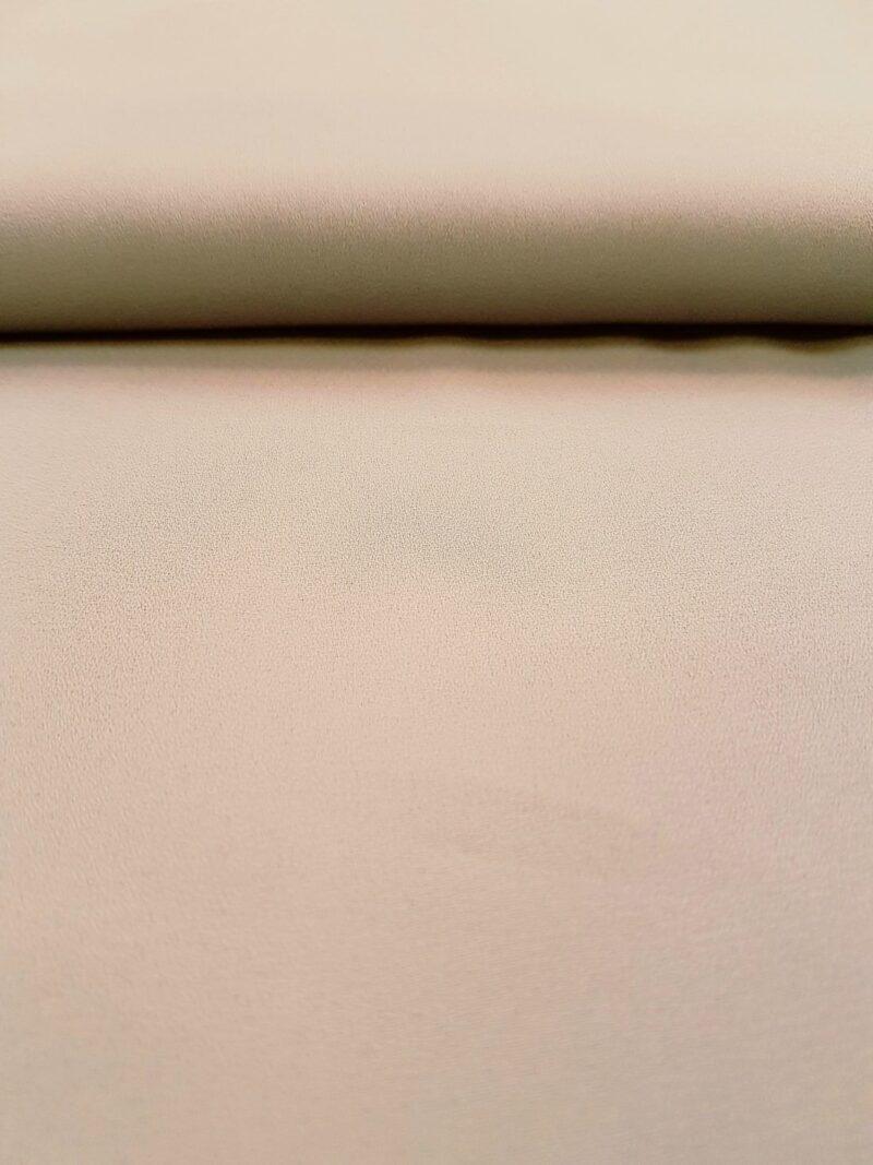 Lysegrå chiffon, polyester -