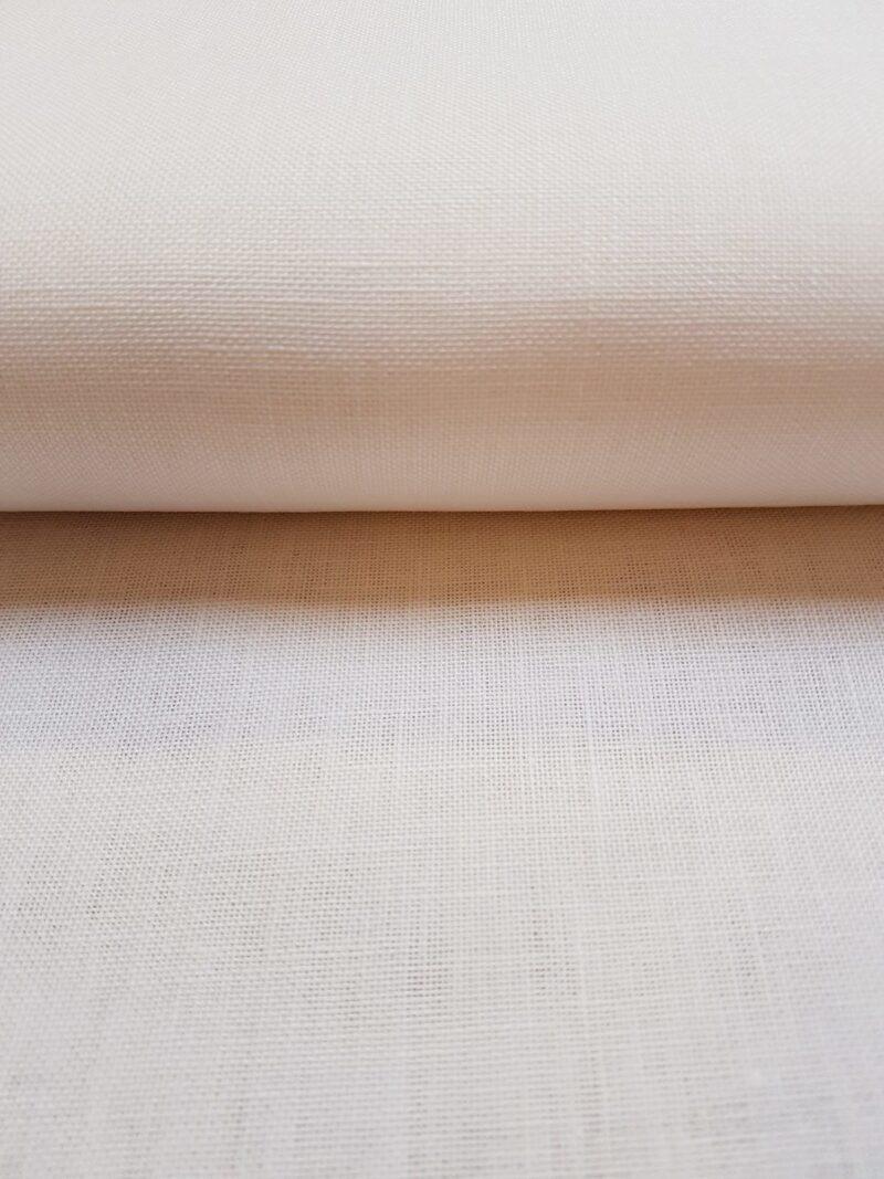 Hørlærred hvid - 12 trådet -