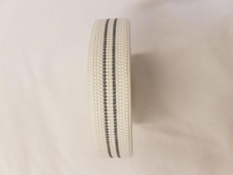 Boxershorts elastik med grå stribe -