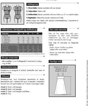 Onion stropkjole/-top med drejet bærestykke, str. XS-XL - Onion 2024 - Onion