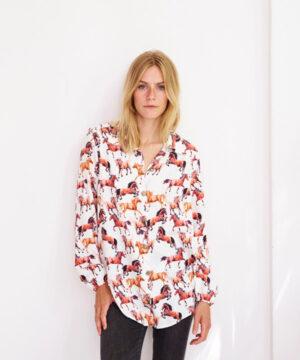 Skjorte og skjortekjole, str.XL-5XL - Onion 9025 -