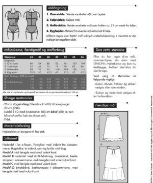 Nederdele med volant, str. 34-46 - Onion 3008 - Onion