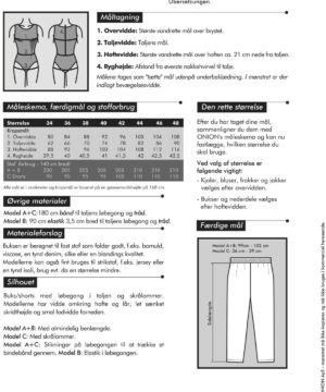 Buks og shorts, str. 34-48 - Onion 4028 - Onion