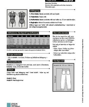 Cargo bukse, str.XS-XL - Onion 4033 - Onion