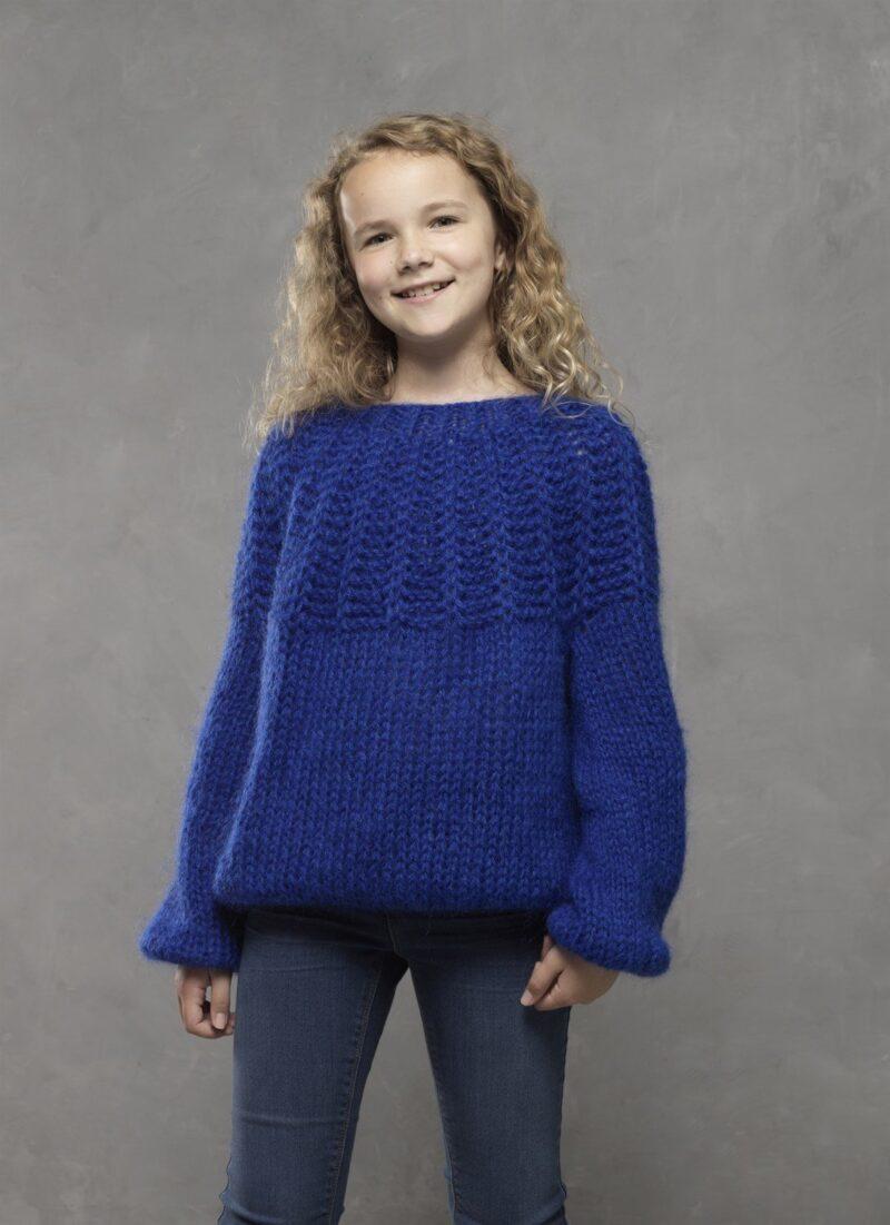 Teen sweater i dobbelt Dolce, 4612 -