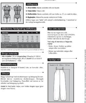 Buksedragt, str. XS-XL - Onion 6012 - Onion