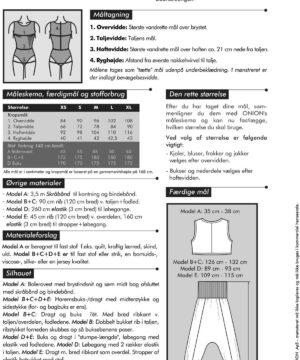 Bolerovest, haremsbuks/-dragt, str. XS-XL - Onion 6013 - Onion