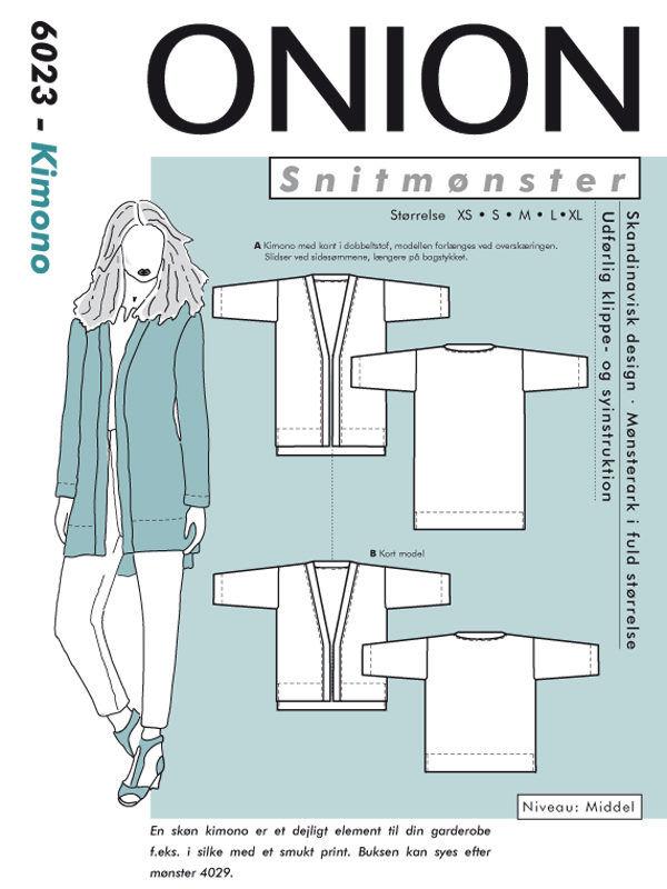 Kimono, str. XS-XL - Onion 6023 - Onion