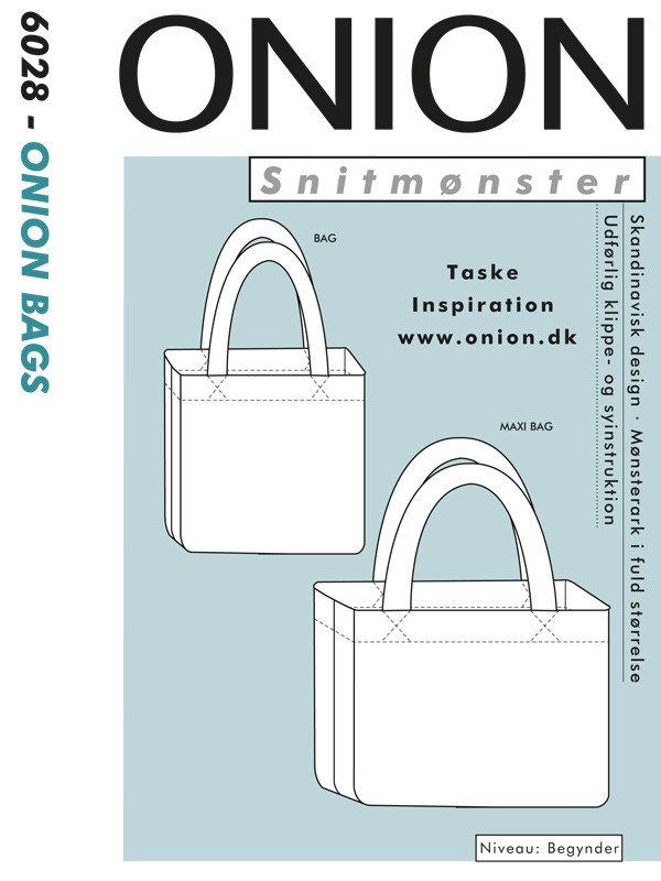 Snitmønster, ONION BAGS, 6028 - Onion