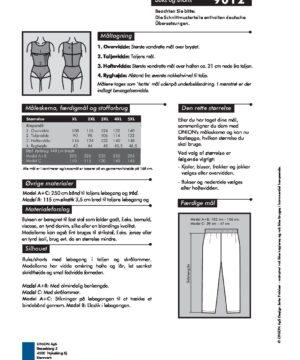 Buks og shorts, str. XL-5XL - Onion 9012 - Onion