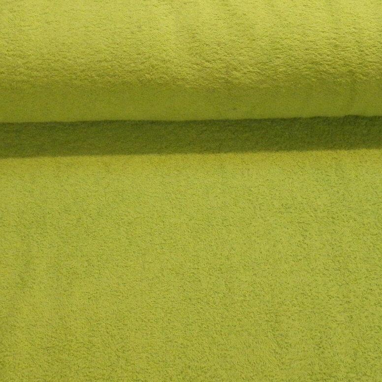 Frotté - limegrøn -