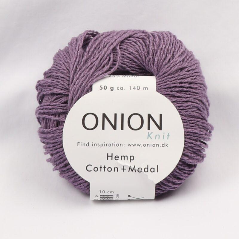 Onion Garn, Hamp/bomuld/modal - Lilla fv. 404 - Info mangler