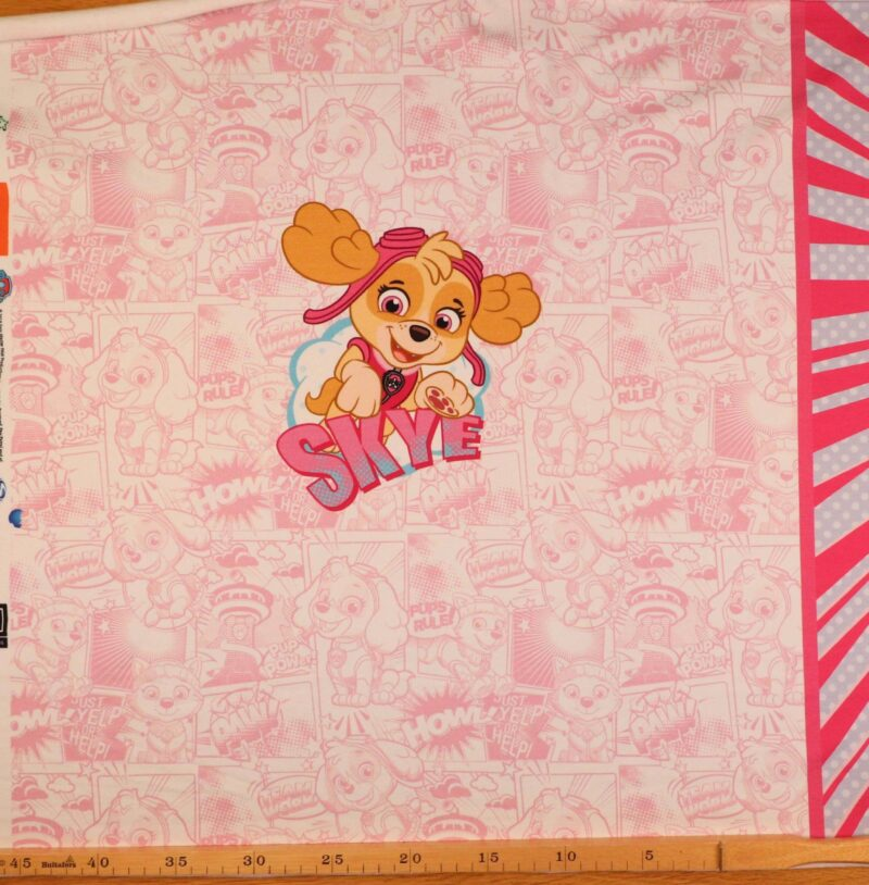 Paw Patrol (3motiver) - French Terry rapport/7 -