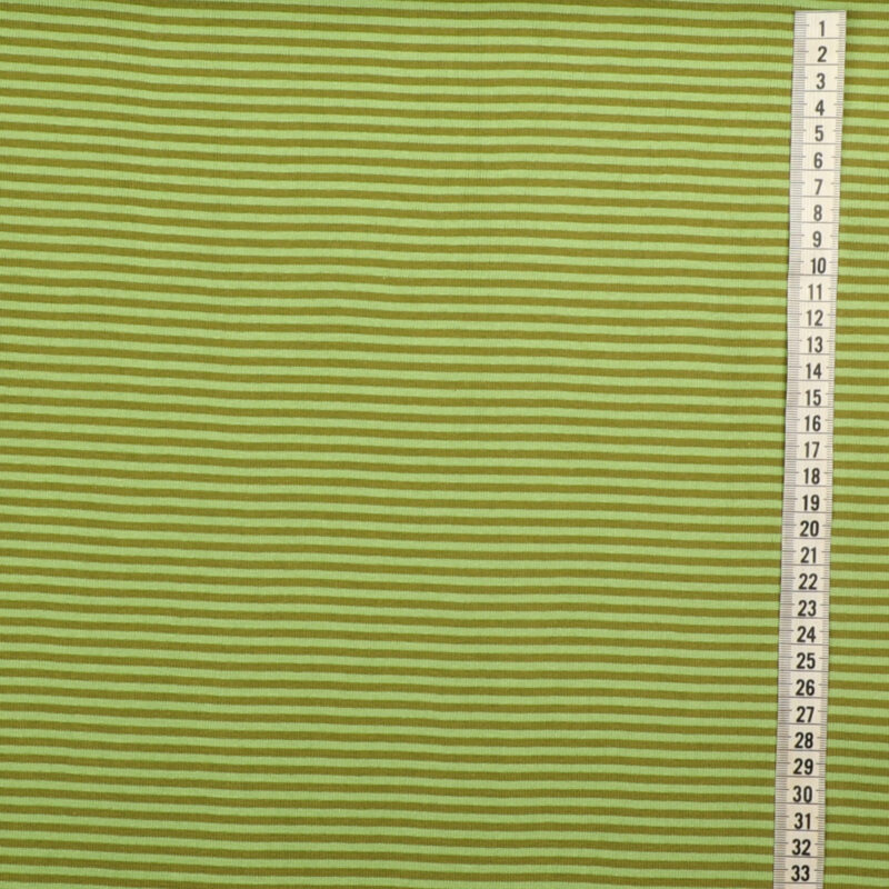 Striber Lys grøn/oliven - Rib -