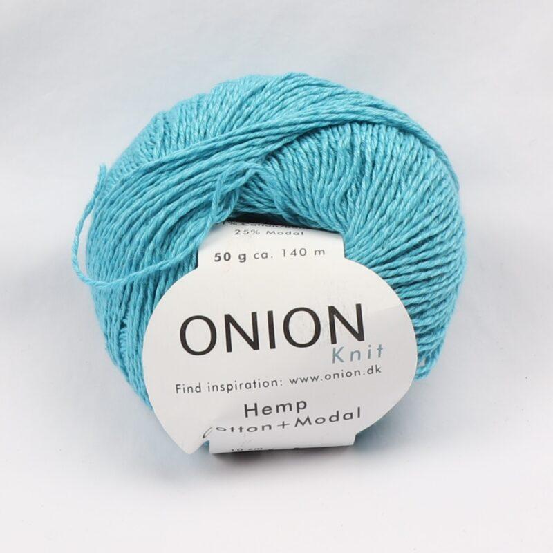 Onion Garn, Hamp/bomuld/modal - Turkis fv. 420 -
