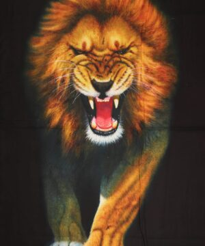 Løve - Patchwork rapport (110) -