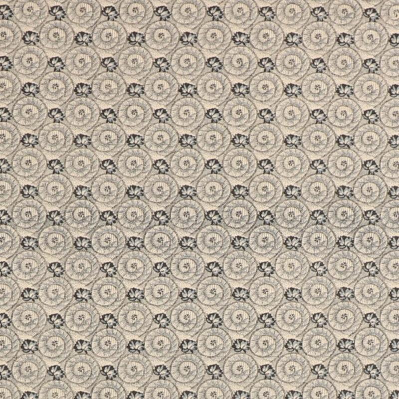 Patchwork - Stålgråt mønster -