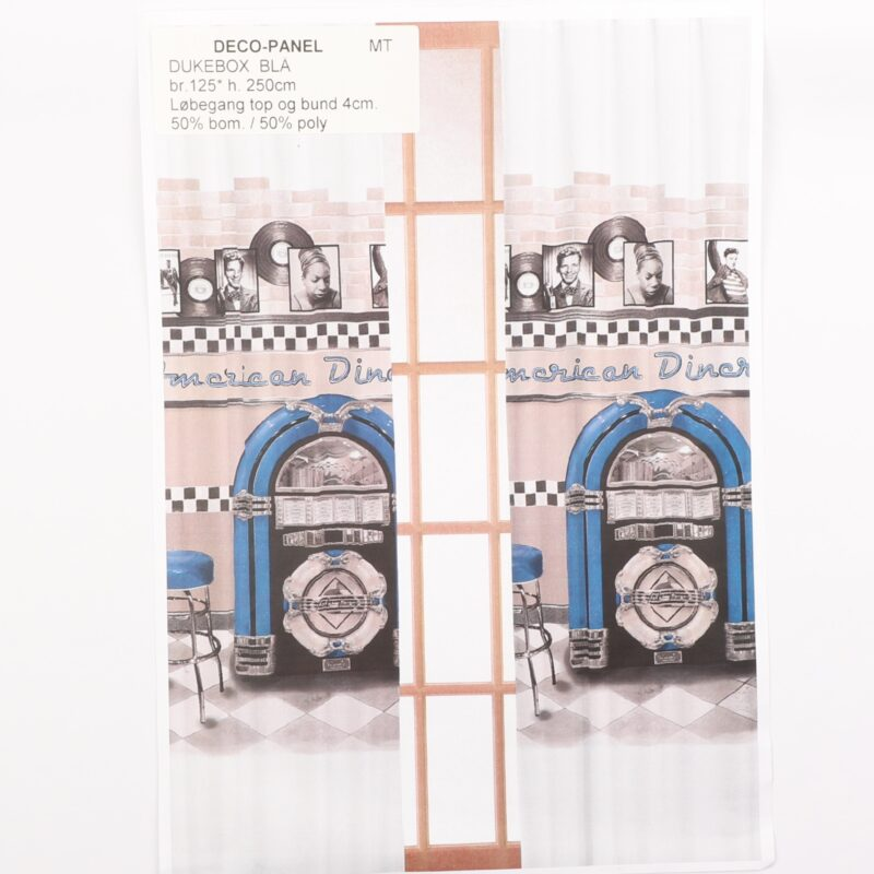 Deco-Panel, Blå jukebox -