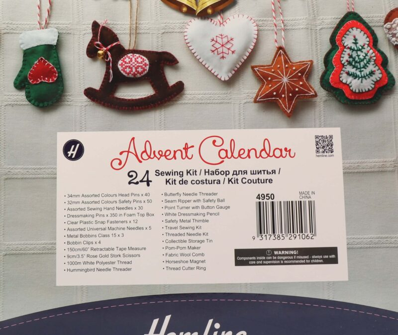Sysæt, Julekalender - 24 gaver -