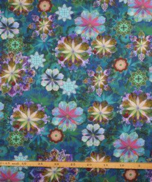 Blomstermønster - Patchwork -