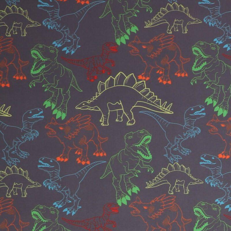 Dinoer på grå - Softshell -