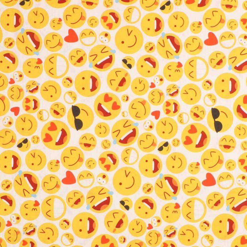 Smileys - Let bomuld -