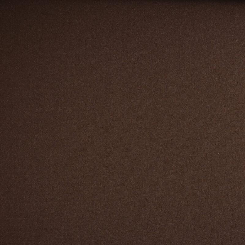 Mørkebrun - Uld/polyester - Info mangler