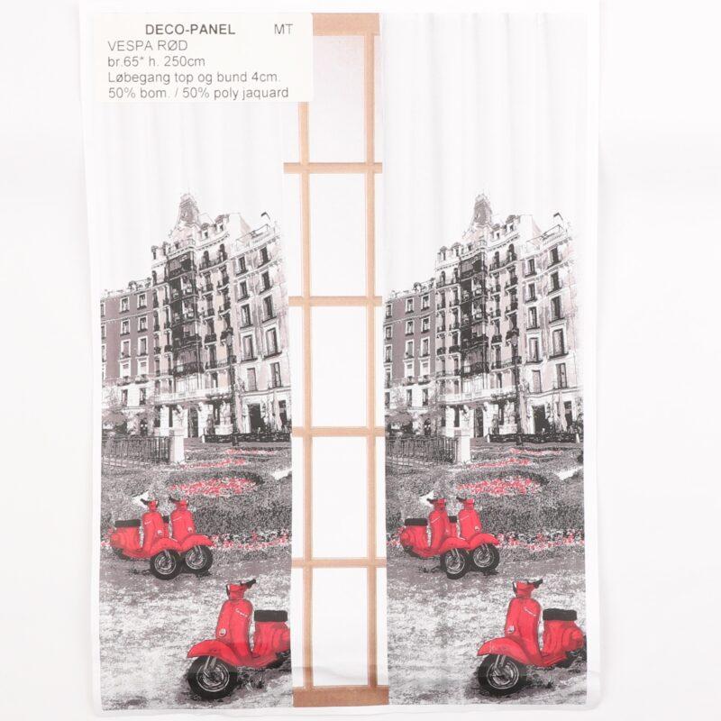 Deco-Panel Vespa rød -