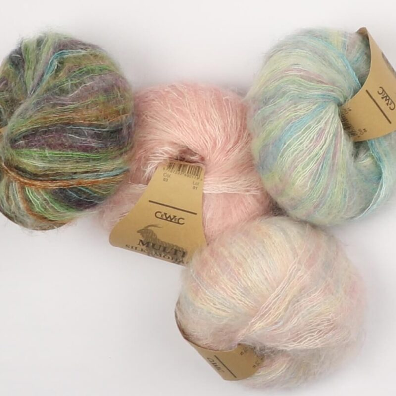 Multi Silk-Mohair fra CeWeC -