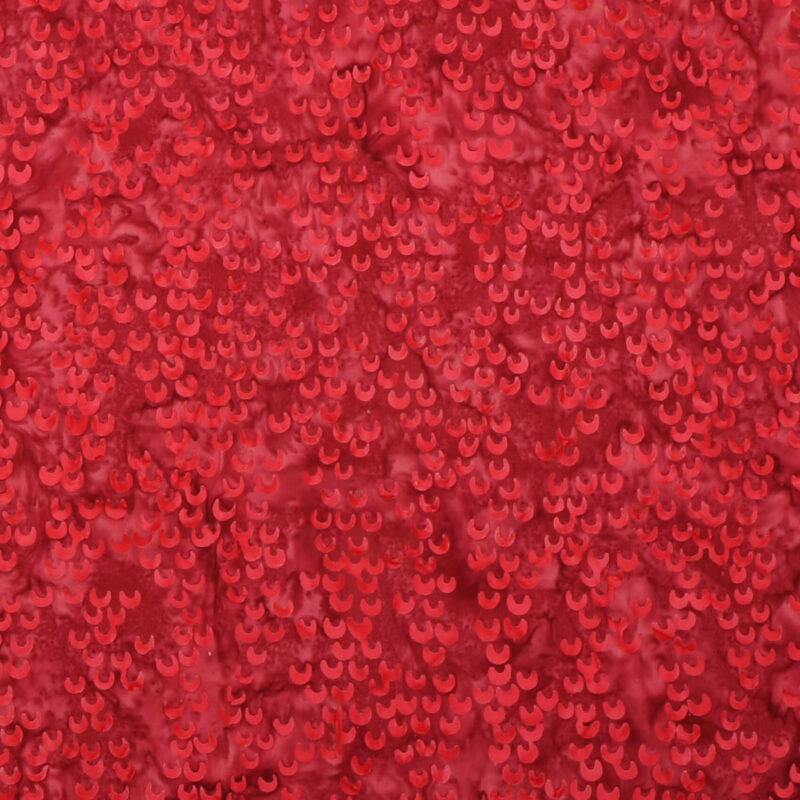 Lys rødbrun m. halvmåne mønster - Bali -