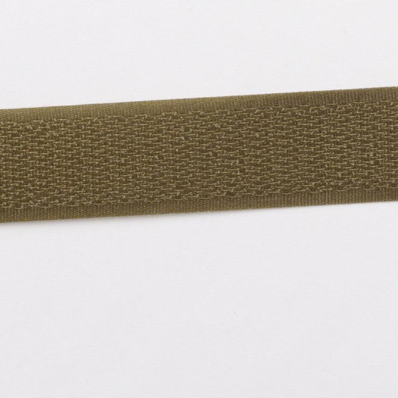 Armygrøn - gribebånd 20 mm, hook -