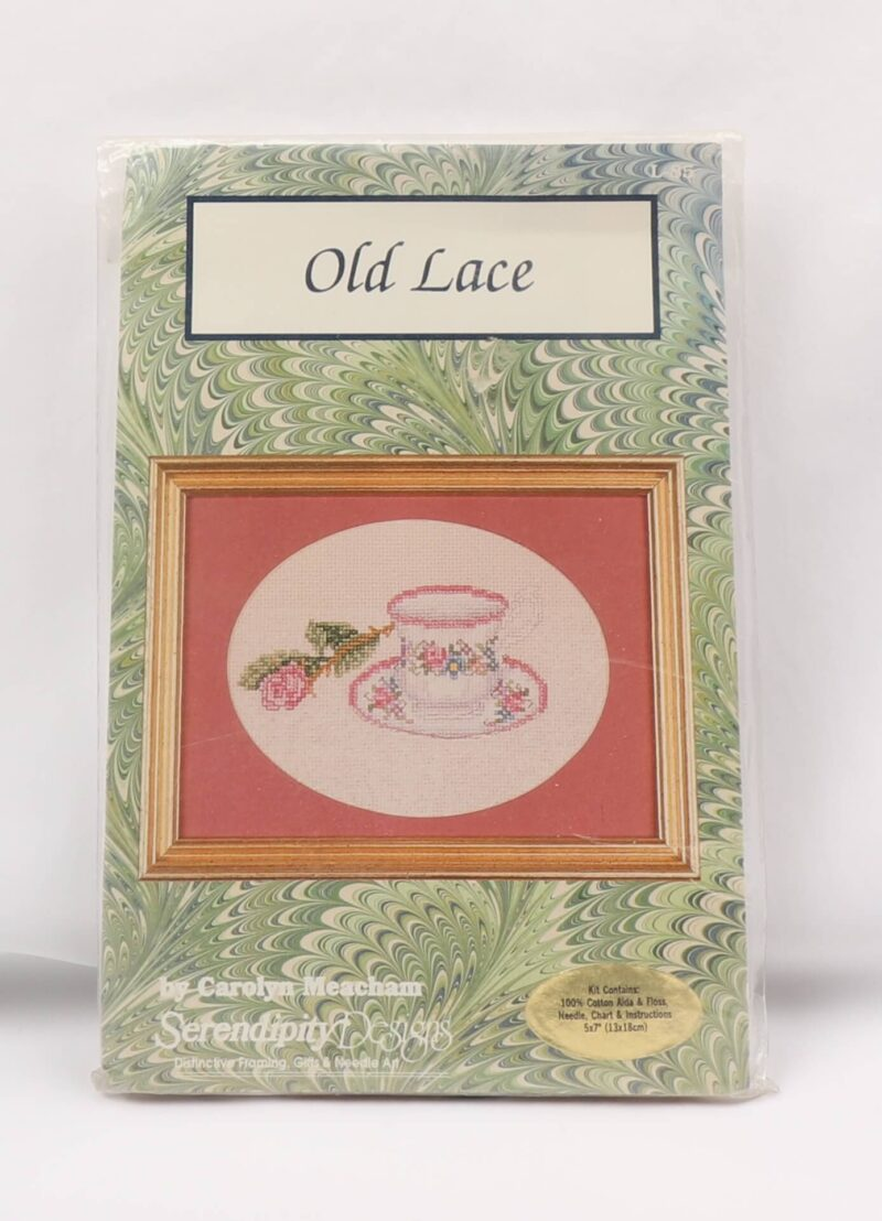 Broderi Kit - Old Lace -