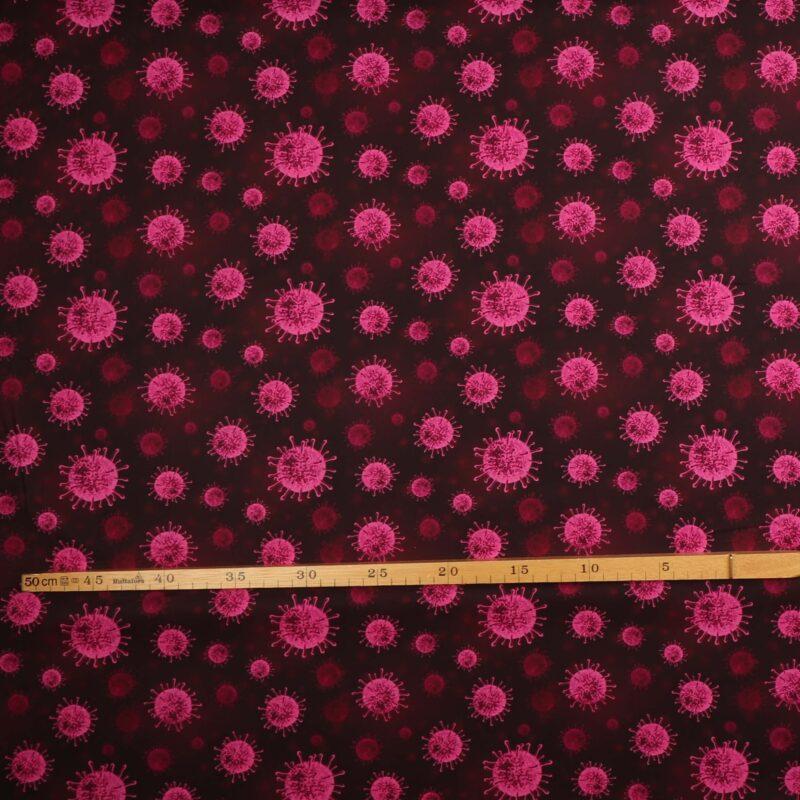 Vira, pink - Let bomuld -