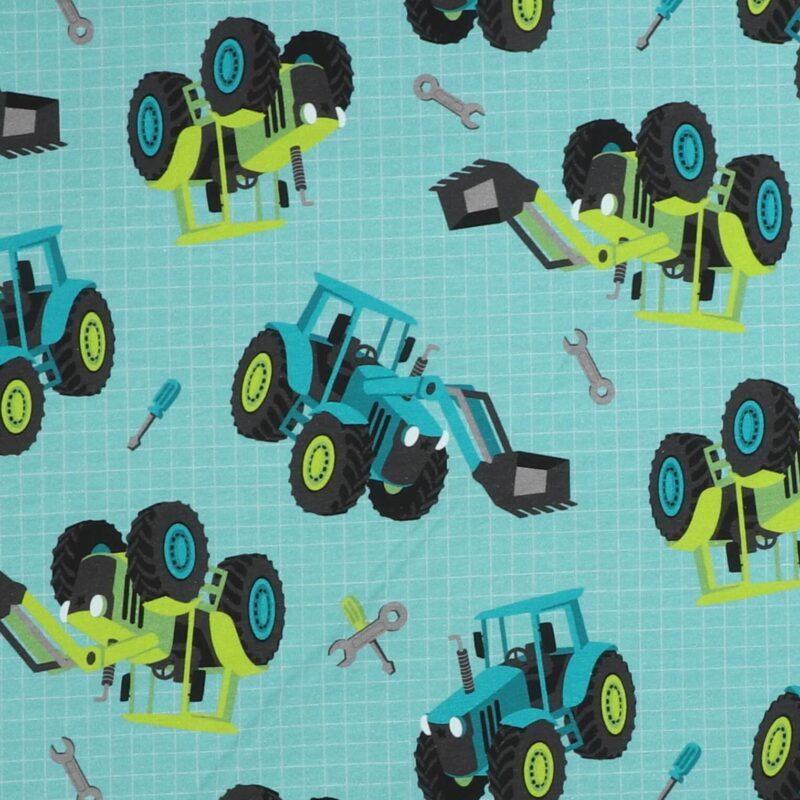 Traktor på turkis - Isoli -