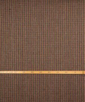 Tern i sort/rust/offwhite/brun - Uld/polyester -