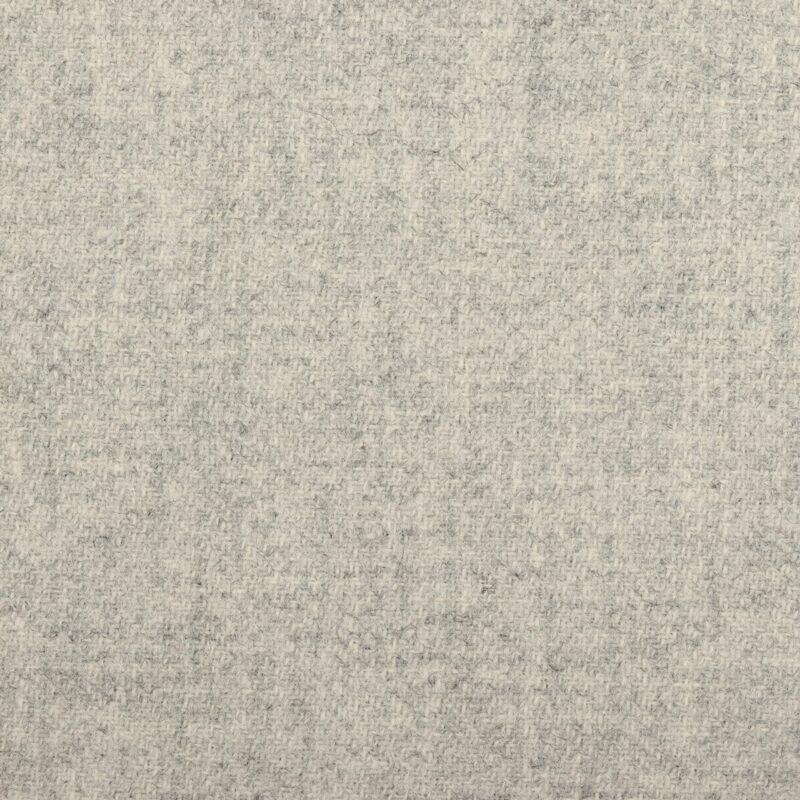 Uld, lysegrå - New Zealand Uld, møbelstof -