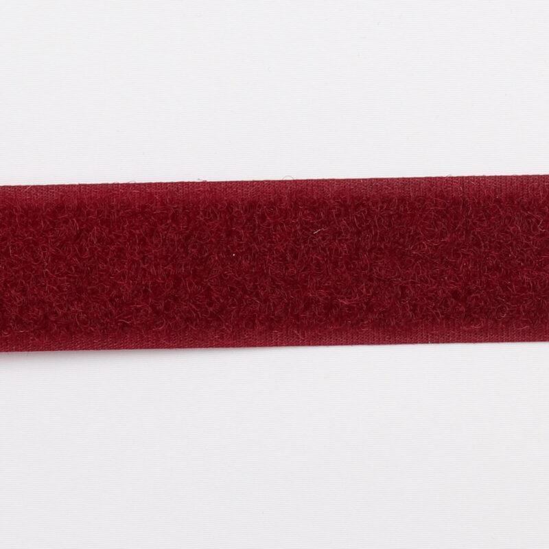 Bordeaux - gribebånd 20 mm, loop -