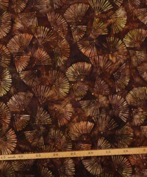 Brun m. viftemønster - Bali -