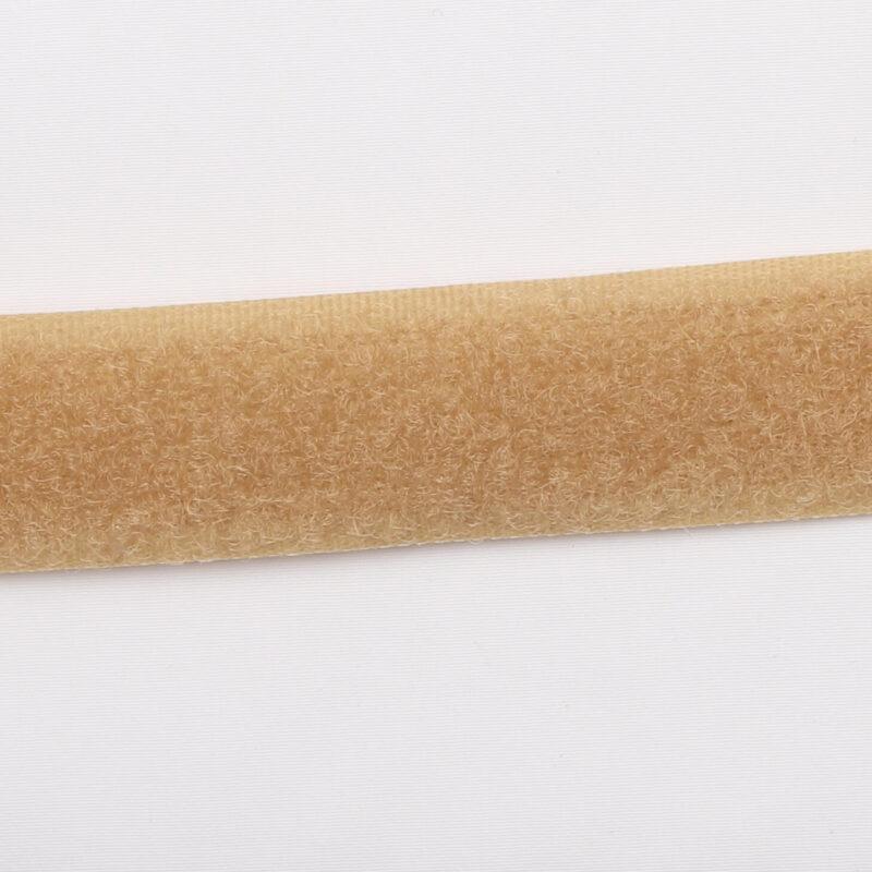 Beige - gribebånd 20 mm, loop -