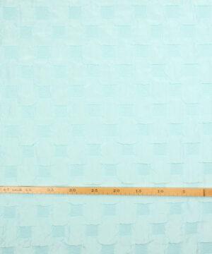 Kvadrater i mint - Polyester -