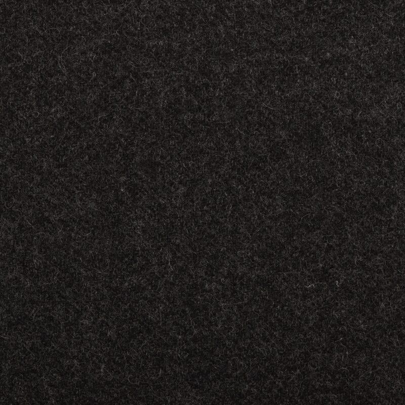 Uld, koksgrå - New Zealand Uld, møbelstof -