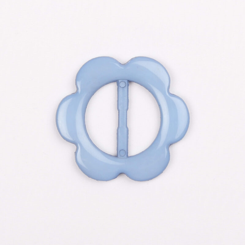 Pyntespænde, blå 30 mm -